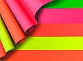 Fluorescent Paper Roll Assorted Colours (10 sheets)