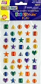 Adhesive Gemstones Geometric Shapes (Pack 45)