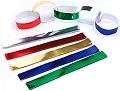 Gummed Coloured Foil Party Chains (90 strips)