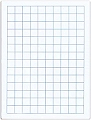 A4 20mm Grid/Blank Whiteboard 1000 micron