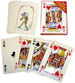 Gigantic Playing Cards 28cm x 20.5cm