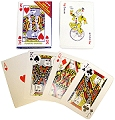 Giant Playing Cards 17cm x 12cm
