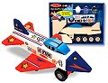 Decorate-Your-Own Jet Plane
