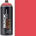 Montana BLACK Spray Paint Can 400mls Red