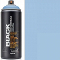 Montana BLACK Spray Paint Can 400mls Blue Lagoon