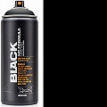 Montana BLACK Spray Paint Can 400mls Black