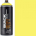 Montana BLACK Spray Paint Can 400mls True Yellow