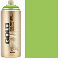 Montana GOLD Spray Paint Can 400mls Green Light