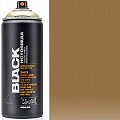 Montana BLACK Spray Paint Can 400mls Gold Chrome