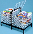 A2 Spring Loaded Drying Rack 30 Shelf