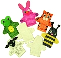 Cotton Finger Puppets (Pack 20)