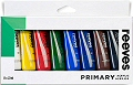 Reeves Acrylic Paint Tubes Primary Colours 22ml (Pack 8)