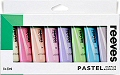 Reeves Acrylic Paint Tubes Pastel Colours 22ml (Pack 8)