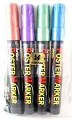 Artline Metallic Poster Markers (Pack 4)
