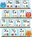 Colourful Owl Alphabet Mini Bulletin Board