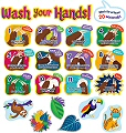 Hand Washing Bulletin Board