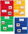 Magnetic Pocket Chart Squares (Set 4)
