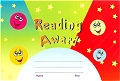 A5 Reward Certificates Reading Award (Pack 25)