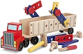 Big Rig Construction Truck Play Set