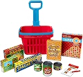 Fill & Roll Grocery Basket Set