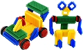 Pegy Bricks (94 pieces & building plans)