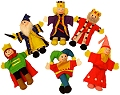 Finger Puppets Royalty (Set 6)