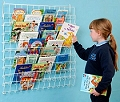 Square Wall Hanging Book Rack