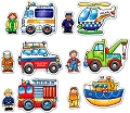 Baby Puzzles Rescue Squad (2 & 3 piece)