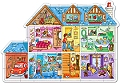 Dolls House Shaped Floor Puzzle (25 piece)