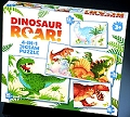 Dinosaur Roar! 4 in 1 Puzzles (12, 16, 20 & 24 piece)