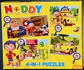 Nody 4 in 1 Puzzles (12, 16, 20 & 24 piece)