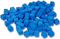 Non-Linking Base Ten Units/Ones Blue (100 pieces)