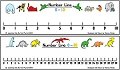 Wall/Teachers Dry-Wipe Number Line 0-10/0-30