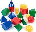 3D Geometric Shapes Large 10cm (Set 17)